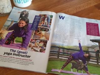 Simply Soulful Goat Yoga_Weight Watchers Magazine