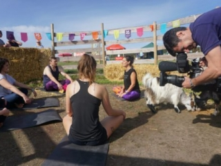 Simply Soulful Goat Yoga_BBC Spotlight_David Bassett