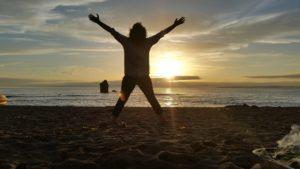 Soulful Sunset Beach Yoga
