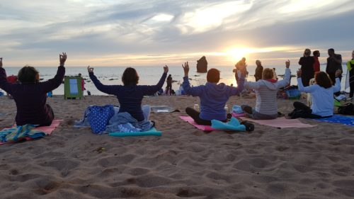 Simply Soulful Sunset Beach Yoga