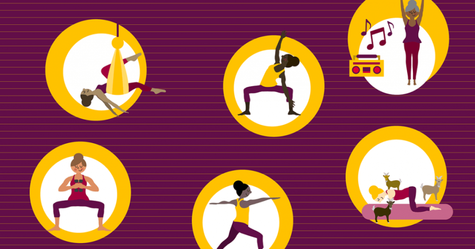 Creative yoga hybrids to switch up your practice